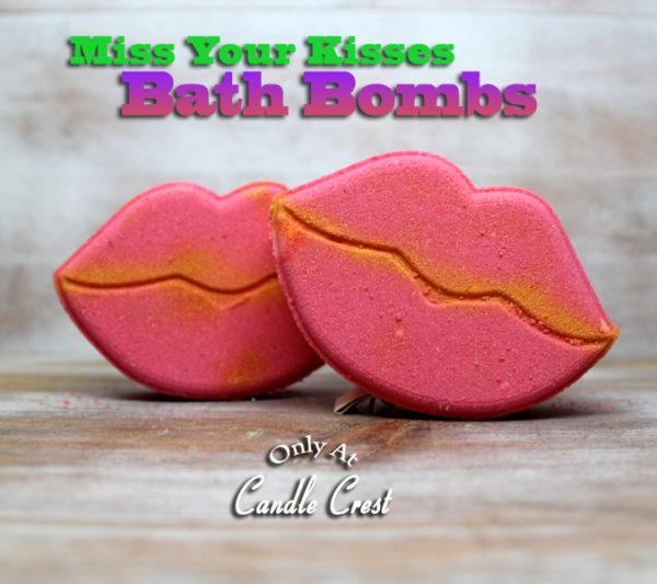 Miss Your Kisses Bath Bomb by Judakins Bath & Body