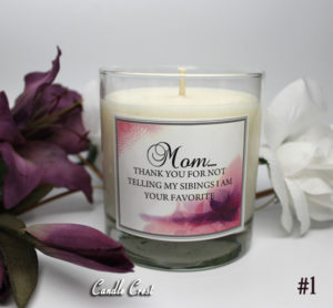 Mother's Day Candle by Candle Crest Soy Candles Inc