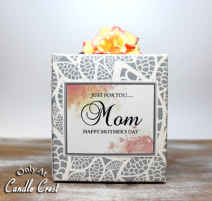 Mothers Day Candles by Candle Crest Soy Candles Inc