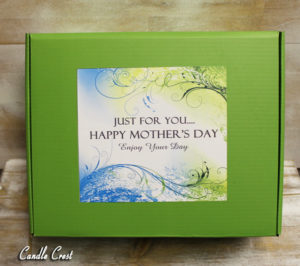 Mother's Day Gift Box By Candle Crest Soy Candles Inc