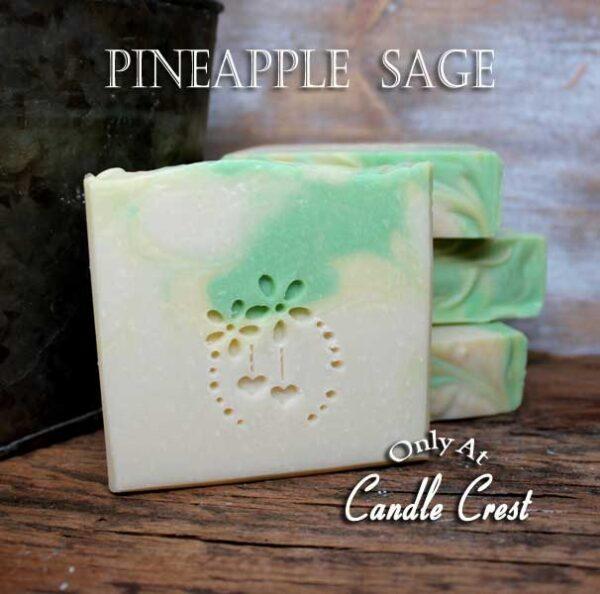 Pineapple Sage Soap by Judakins Bath & Body