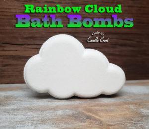 Rainbow Cloud Bath Bomb by Judakins Bath & Body