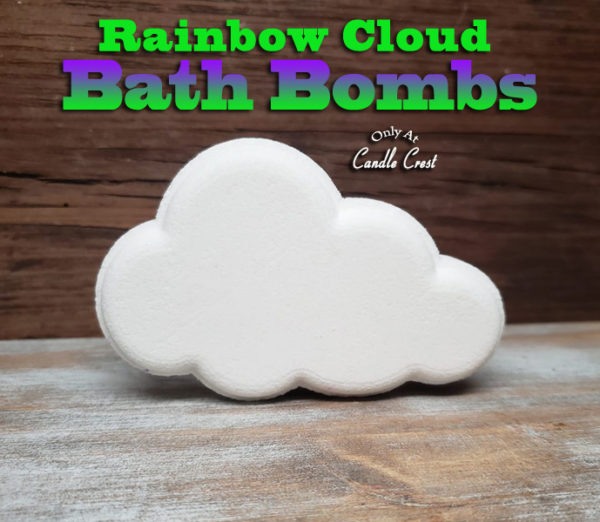 Rainbow Cloud Bath Bomb by Judakins Bath & Body