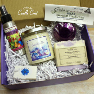 Thank You Gift Box by Candle Crest Soy Candles Inc
