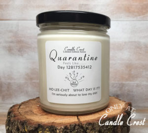 Quarantine Candle by Candle Crest Soy Candles Inc