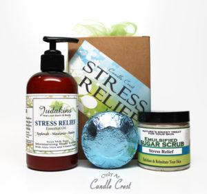 Stress Relief Gift Box Set by Judakins Bath & Body