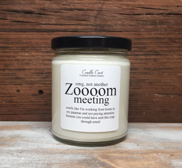 Zooooom Meeting Candles by Candle Crest Soy Candles Inc