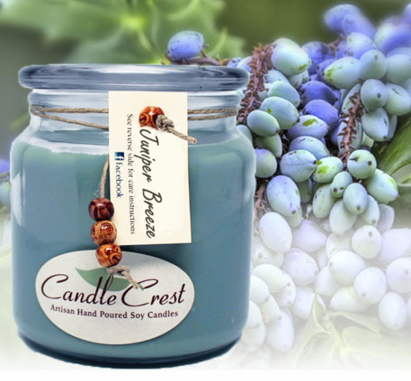 Juniper Breeze Soy Candles by Candle Crest Soy Candles Inc