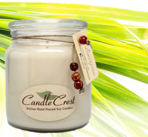 Lemongrass Scented Candles by Candle Crest Soy Candles Inc