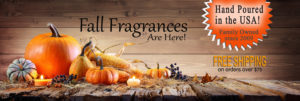 Fall Candles - Scented Candles by Candle Crest Soy Candles Inc