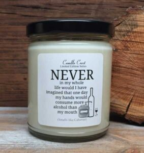 Alcohol Candle - Humor Candles by Candle Crest