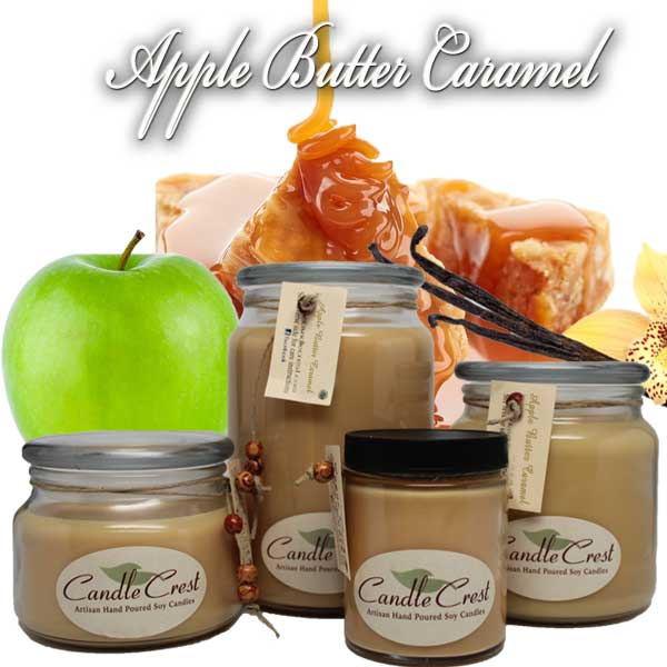 Apple Butter Caramel Soy Candles by Candle Crest