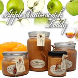 Apple Butterscotch Toddy Soy Candles by Candle Crest
