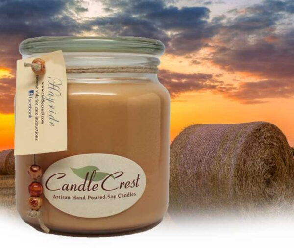 Hayride Scented Soy Candles by Candle Crest