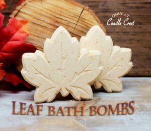 Fall Bath Bombs - Leaf Bath Bomb by Judakins Bath & Body