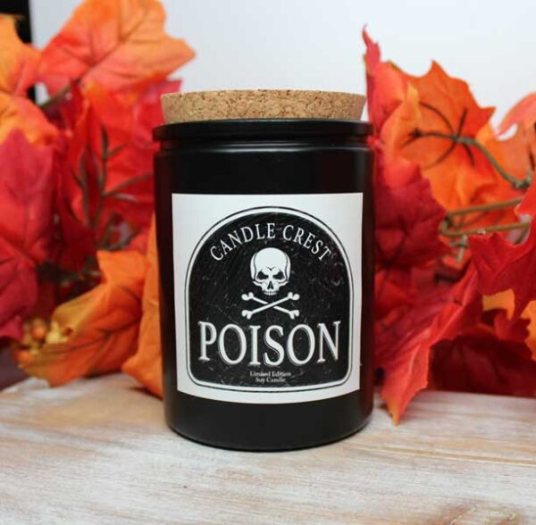 Poison Pie Soy Candles by Candle Crest