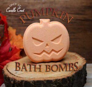 Pumpkin Bath Bombs by Judakins Bath & Body