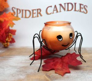 Spider Candles by Candle Crest Soy Candles