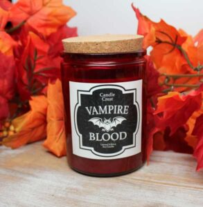 Vampire Blood Soy Candles by Candle Crest