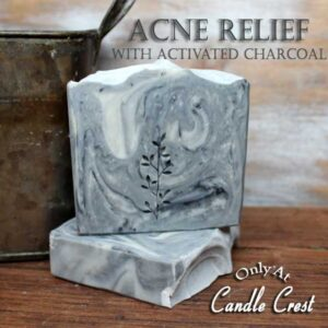 Acne Relief Soap with Activated Charcoal by Judakins Bath & Body