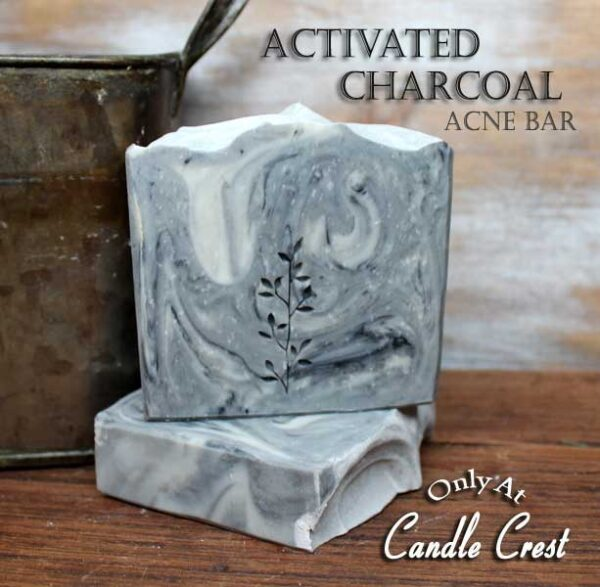 Active Charcoal Acne Relief Soap by Judakins Bath & Body