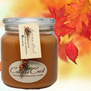 Autumn Stroll - Scented Fall Candles by Candle Crest Soy Candles Inc