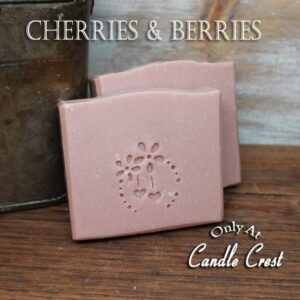 Cherries & Berries Handmade Soaps - Vegan Friendly Soap by Judakins Bath & Body