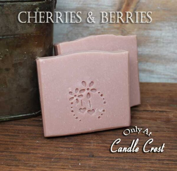 Cherries & Berries Handmade Soaps - Vegan Friendly Soap by Judakins Bath & Body