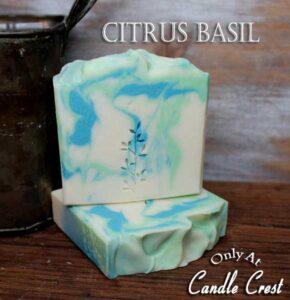 Citrus & Basil Handmade Soaps - Vegan Friendly Soap by Judakins Bath & Body
