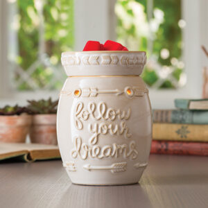 Follow Your Dreams Tart Warmer - Candle Crest Soy Candles Inc