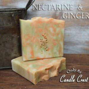 Vegan Soap - Nectarine & Ginger Soap by Judakins-Bath & Body