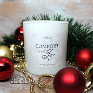 Comfort & Joy Holiday Candle by Candle Crest Soy Candles Inc
