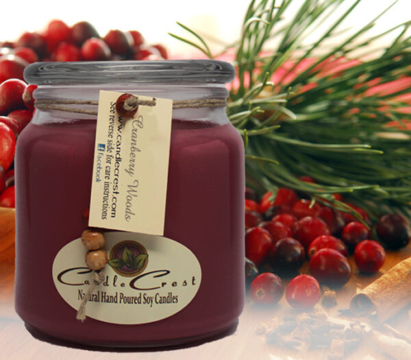 Cranberry Woods Soy Candles by Candle Crest Soy Candles Inc