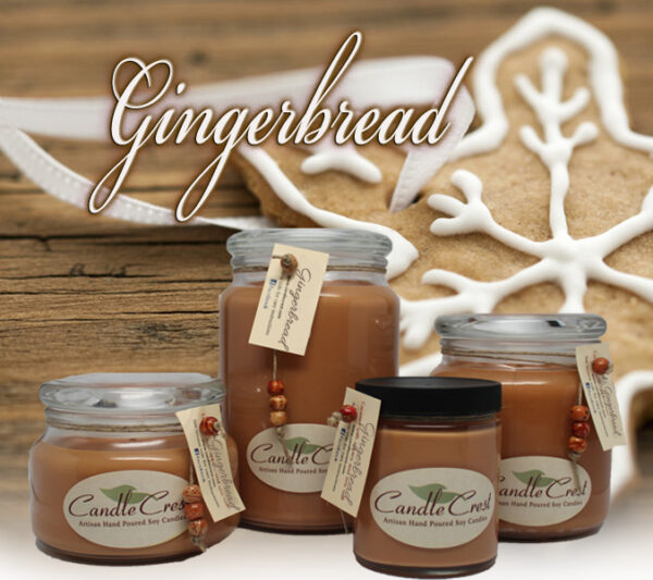 Gingerbread Soy Candles by Candle Crest Soy Candles Inc