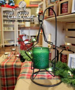 Metal Star Candle Holder - Candle Crest