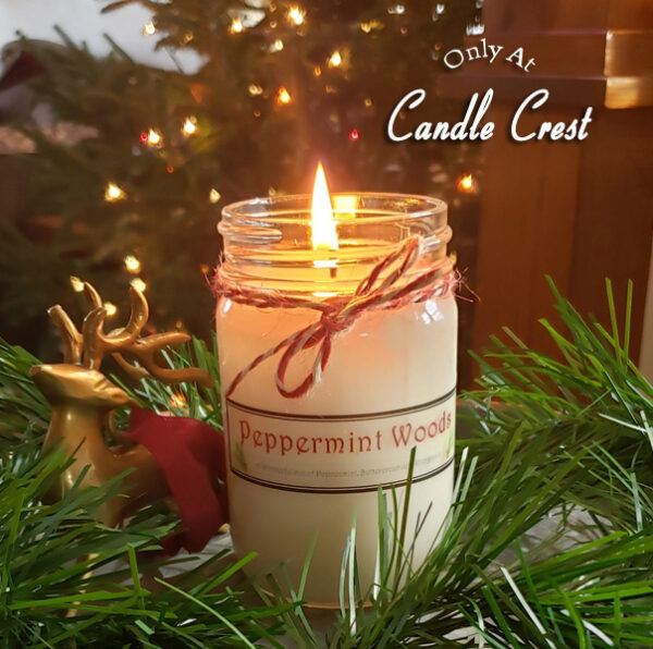 Peppermint Woods by Candle Crest Soy Candles Inc