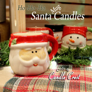Santa Mug Candle by Candle Crest Soy Candles Inc