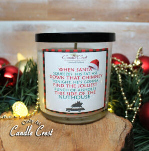 A Griswold Christmas Candle by Candle Crest Soy Candles