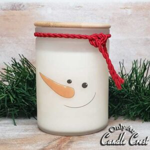 Snowman Candles - Soy Candles by Candle Crest