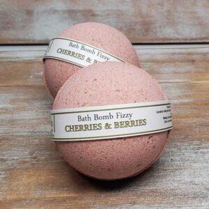 Cherries & Berries Bath Bomb - by Judakins Bath & Body