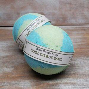 Cool Citrus Basil Bath Bomb - by Judakins Bath & Body