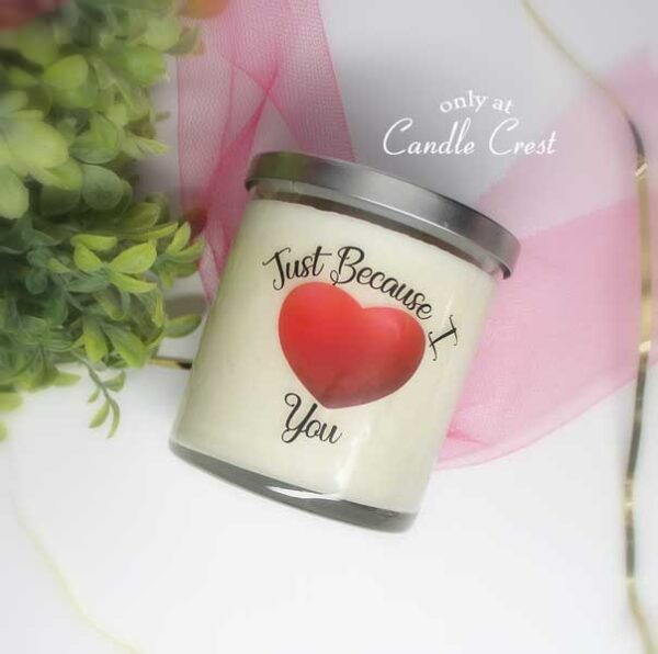 Valentines Day Candle by Candle Crest Soy Candles Inc