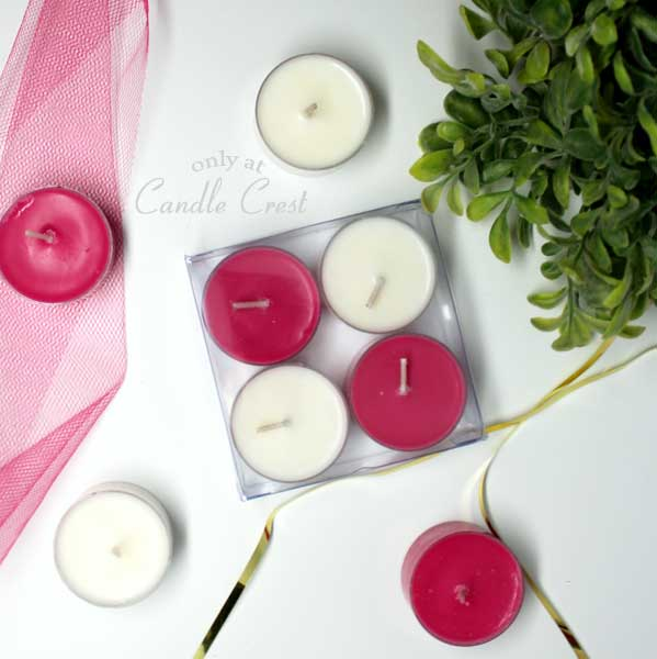 Valentines Day Tealights - by Candle Crest Soy Candles Inc