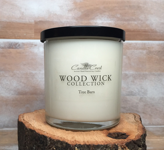 Wood Wick Soy Candles by Candle Crest Soy Candles