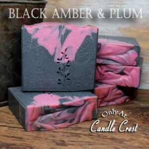 Black Amber & Plum Soap - Judakins Bath & Body
