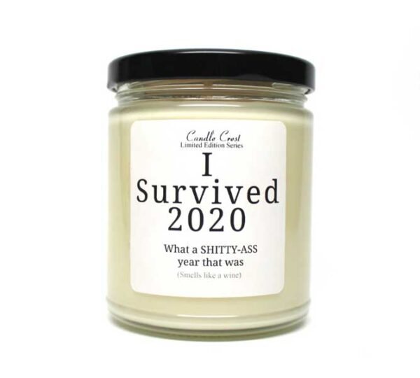 I Survived 2020 Candles - Candle Crest Soy Candles
