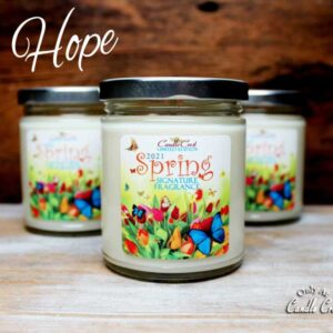 Candle Crest Spring 2021 Signature Fragrance - Hope