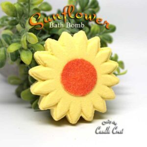 Sunflower Shaped Bath Bombs by Judakins Bath & Body