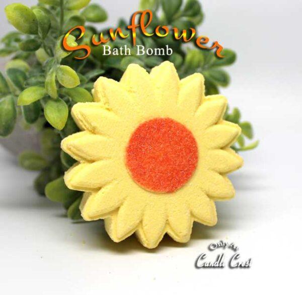 Sunflower Shaped Bath Bombs by Judakins Bath & Body