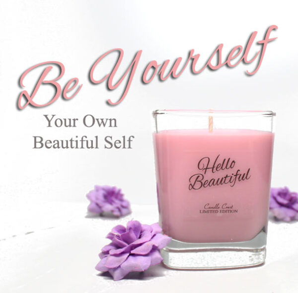 Hello Beautiful - Inspirational Candles by Candle Crest